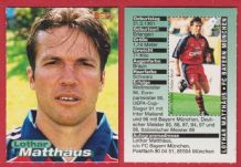 Bayern Munich Lothar Mathaus Germany 2